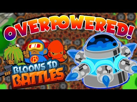 ARE TACK SHOOTERS OVERPOWERED!? OVER 100!!! | Bloons TD Battles