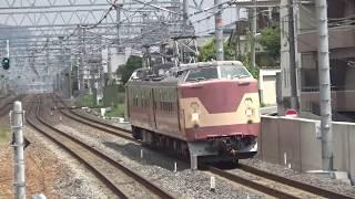 JR西日本 クモヤ443系@JR総持寺と吹田