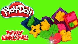 Play Doh • Świąteczne akcesoria z Play Doh • DIY