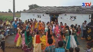 Bathukamma Dance by Banjara Girls in Thanda with DJ Song || 3TV BANJARAA