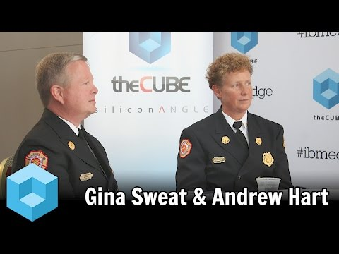 Gina Sweat & Andrew Hart - IBM Edge 2015 - theCUBE
