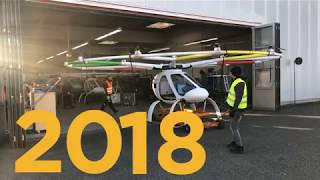Volocopter: Pioneers with 8 years testing experience