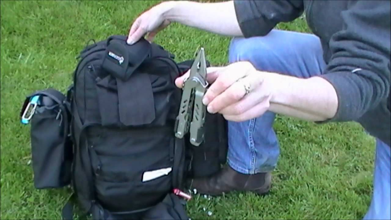 5 11 rush 12 daypack contents for days in woods and walking