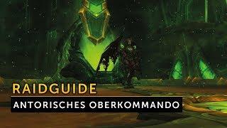 Raidguide Antorisches Oberkommando - Antorus der brennende Thron | Vanion.eu Deutsch German