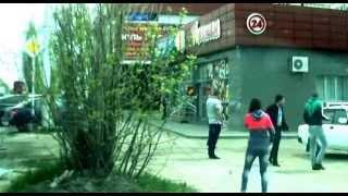 Драка ингушей в Ставрополе попала в объектив видеорегистратора.