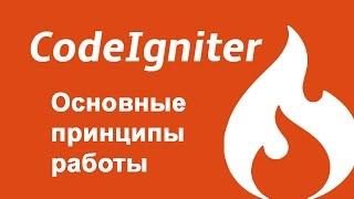 Codeigniter - основные принципы работы