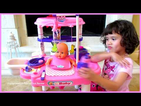 Thumbnail: Baby Doll Nursery Center for Kids | itsplaytime612 Toys Play Pretend