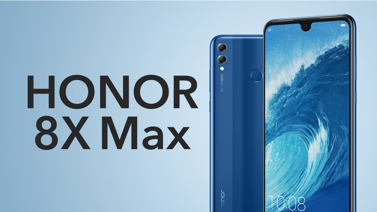 Honor 8X Max 128GB Blue 7 12-Inch Online at Jarir Bookstore KSA