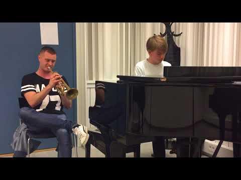 Aladdin  A Whole New World piano + trumpet