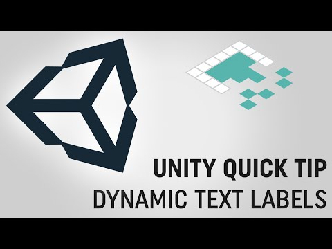 Unity Quick Tip: Dynamic Text Labels from Board to Bits