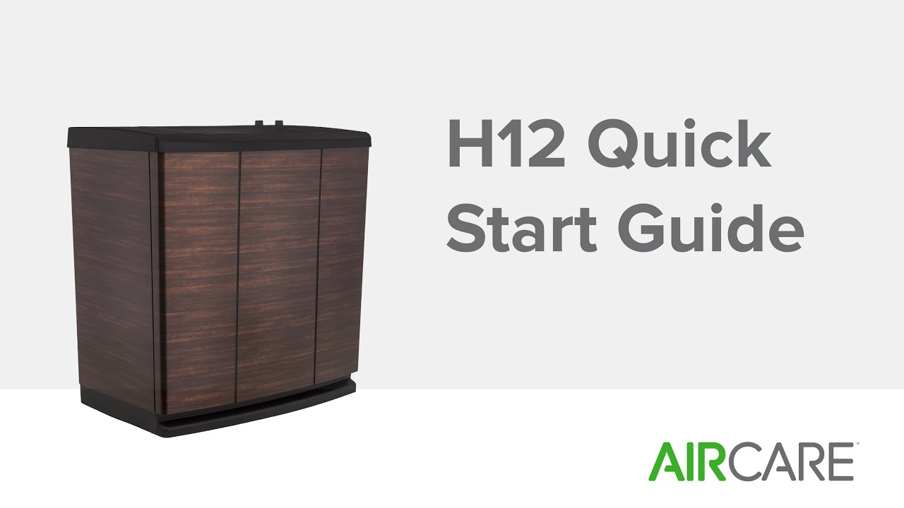 h12 quick start guide essick air - Essick Air