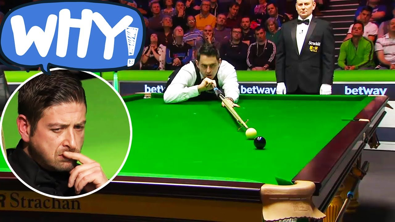 Strange Things Happen In The Snooker Table! - YouTube