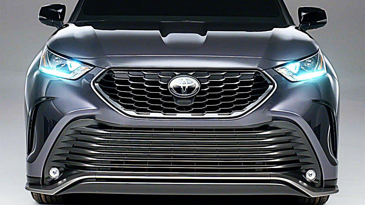 2021 toyota highlander xse  u2013 agressive suv  u2013 interior and exterior design