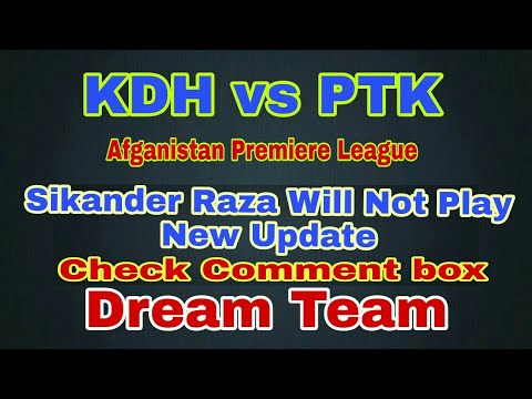 KDH vs PTK Match Dream11 Team Prediction | kdh vs ptk playing11 and dream11 |