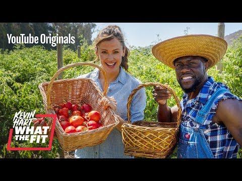 Farming with Jennifer Garner and Kevin Hart