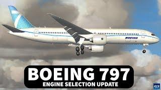 Boeing 797 Engine Update