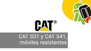 CAT S41 y CAT S31, dos nuevos móviles Android resistentes