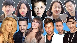 Video Koreans Trying to Guess the Age of  Latin Celebrities download MP3, 3GP, MP4, WEBM, AVI, FLV April 2018