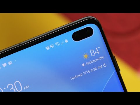 Galaxy S10+: More Imperfect Solution than Bad Idea