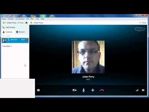 How to share your desktop screen using Skype