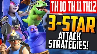The BEST Three Star Troops for Clash of Clans - Town Hall 10, 11, and 12!