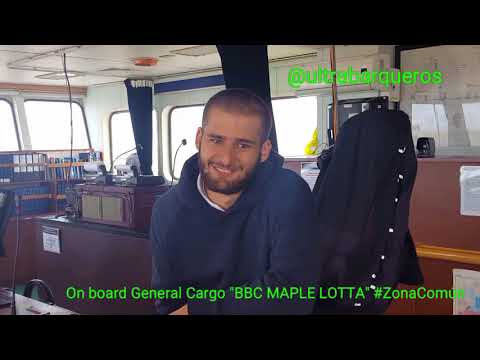 "General Cargo Ship ""BBC MAPLE LOTTA"" #ElectricStorm #PuntaIndioChannel #RioDeLaPlata #Argentina"