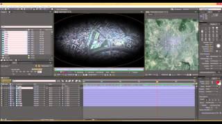 Приближение и отдаление из космоса After Effects видео урок | the approach from space Tutorial
