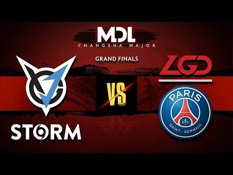 VGJ.Storm vs PSG.LGD Game 1 - MDL Major 2018: Grand Finals - @Lyrical @BSJ @Kyle