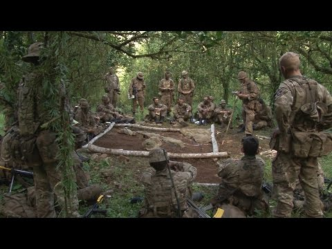Infantry Officers Put To The Test In The Jungle