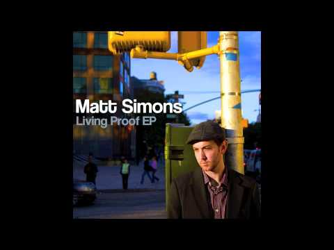 Matt Simons - 'I Have Said Enough' Acoustic (Audio Only)