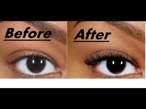 The story of how i got my Eyelashes thicker and longer ...