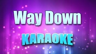 Presley, Elvis - Way Down (Karaoke version with Lyrics)