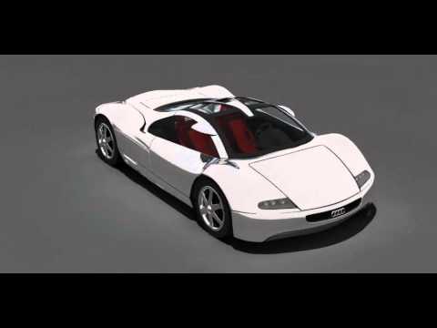 Concept Car Audi Avus 3D model