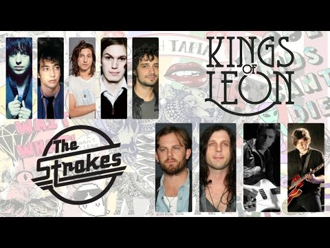 Kings of Leon vs The Strokes Mix