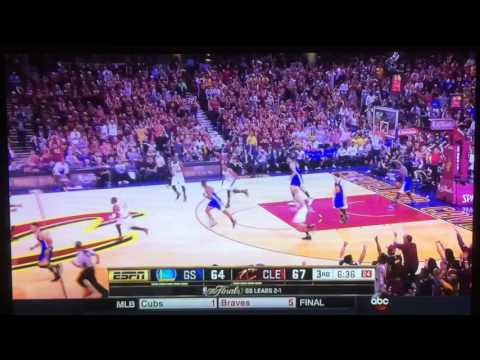Kyrie Irving crosses Steph Curry out his shoes 2016 NBA Finals Cavs vs Golden State