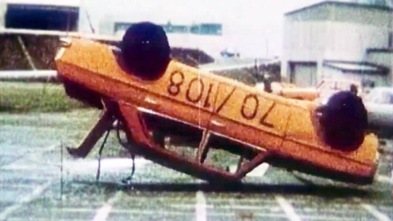Mercedes-Benz crash tests in the 1970s