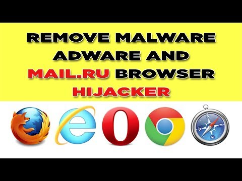 How to fix mail.ru virus adware or malware on Chrome UC Browser, Firefox, Opera, IE 2017