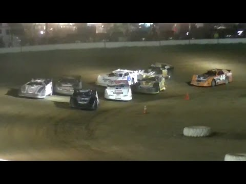 ULMS Super Late Model Heat Three | McKean County Raceway | Fall Classic | 10.11.14