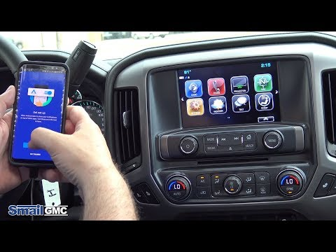 Connect Your Phone To Your Gmc With Android Auto Youtube