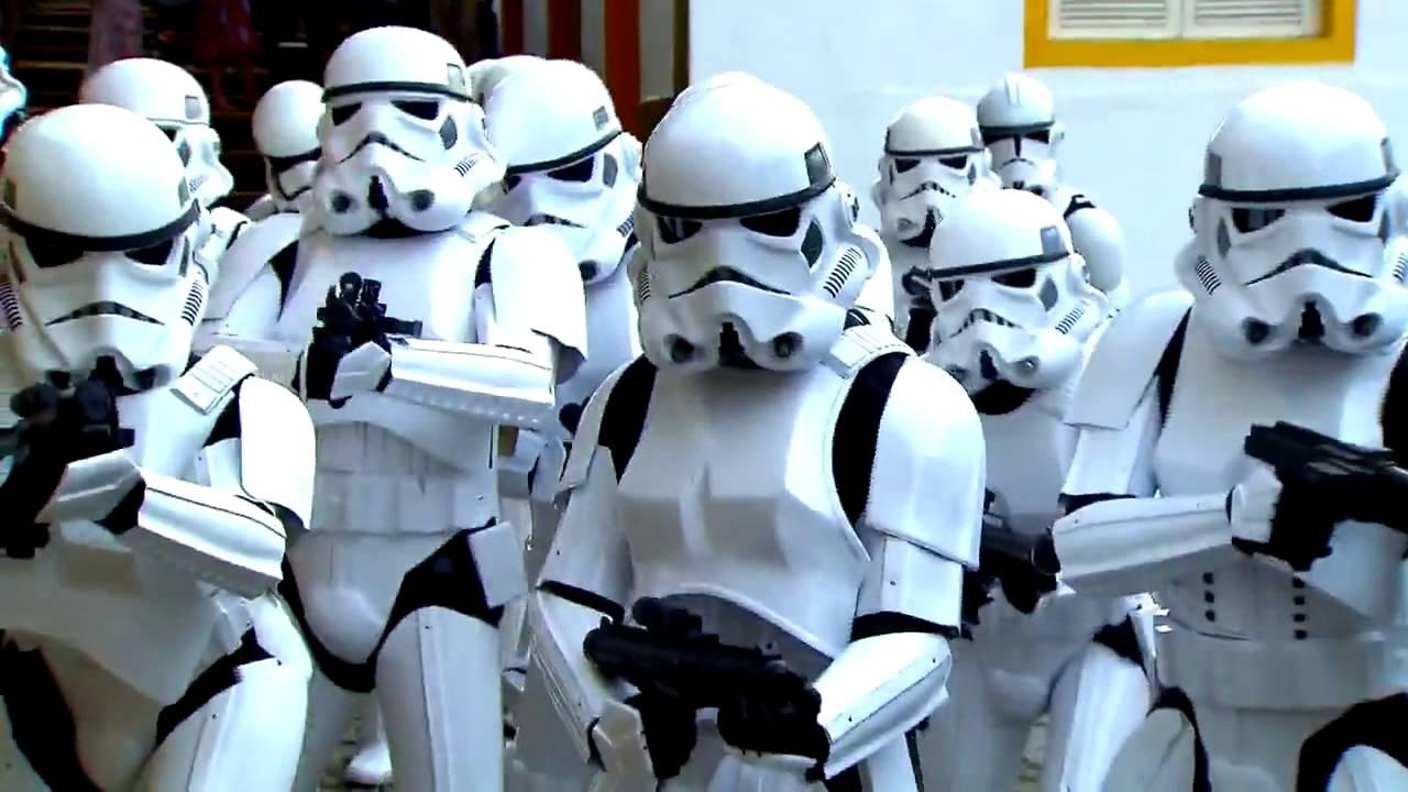 Camera Cachee Star Wars : Des brésiliens piégés dans une caméra cachée star wars youtube