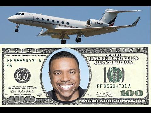 Creflo Dollar Gets $65 Million Private Jet For