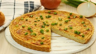 Вкуснейший ЛУКОВЫЙ ПИРОГ✧  Onion Pie Recipe ✧ Soğan Turtası Tarifi