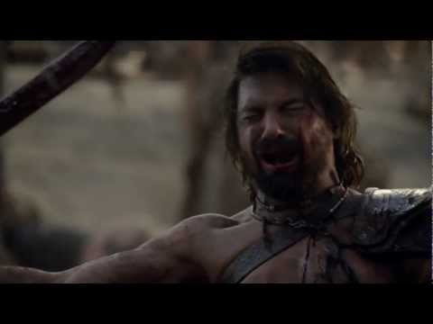 Spartacus: War of the damned- Crixus Death