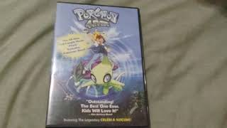 Pokemon 4EVER DVD Overview!