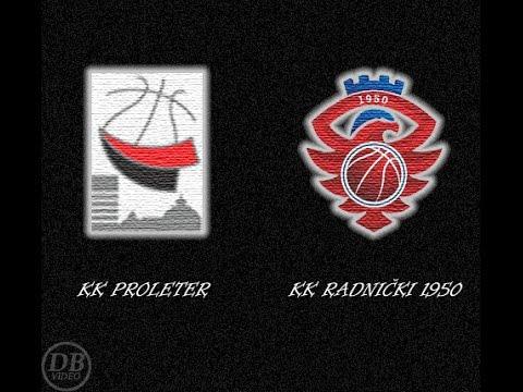 "KK ""PROLETER"" Zrenjanin - KK ""RADNIČKI 1950"" Kragujevac (Highlights)"
