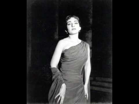 Maria Callas 'La Wally'