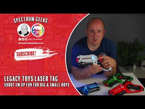 Legacy Toys Laser Tag Unboxing and Review