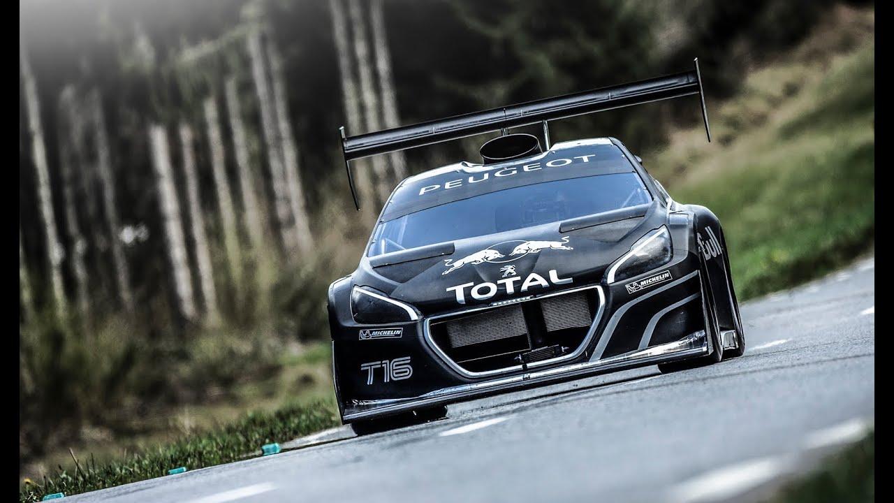 Sébastien Loeb Tests The 208 T16 Pikes Peak