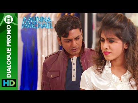 Munna Michael Dialogue - Promo 3: Nawazuddin Siddiqui checks out a Hot Girl