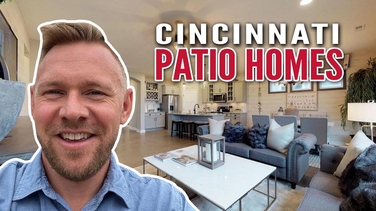 Cincinnati Patio Homes for Sale - Fischer New Construction Patio Homes